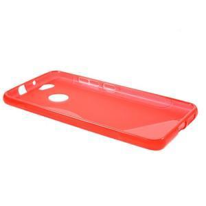 S-line gelový obal na mobil Huawei Nova - červený - 3
