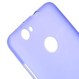 Matný gelový obal na Huawei Nova - fialový - 3