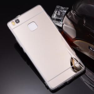 Zrkadlový gélový obal na Huawei P9 Lite - strieborný - 3