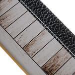 Emotive gélový obal pre iPhone 7 a iPhone 8 - biele drevo - 3/3