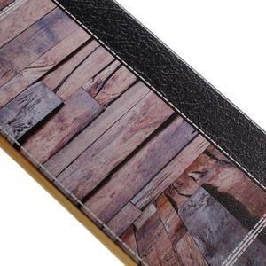 Emotive Gélový obal pre iPhone 7 a iPhone 8 - svetlofialové drevo - 3