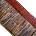 Emotive gélový obal pre iPhone 7 a iPhone 8 - variácie dreva - 3/3