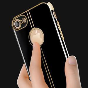 BlackDiamond gélový obal pre iPhone 7 a iPhone 8 - sivý - 3