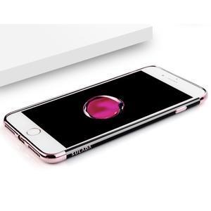 BlackDiamond gélový obal so sivým lemom na mobil iPhone 7 a iPhone 8 - 3