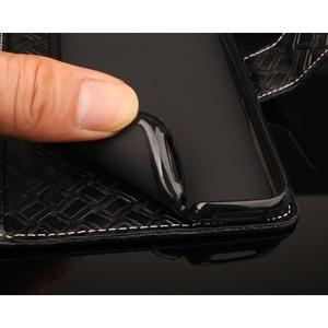 GintMat peňaženkové puzdro pre iPhone 7 a iPhone 8 - čierne - 3