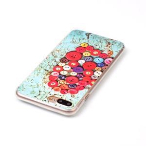 Imope gélový obal pre mobil iPhone 8 Plus a iPhone 7 Plus - knoflíky - 3