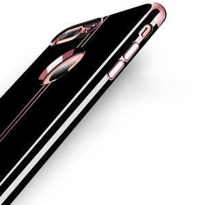 BlackDiamond gélový obal pre iPhone 8 Plus a iPhone 7 Plus - zlatoružový - 3