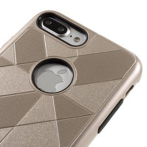 Armory odolný obal pre mobil iPhone 8 Plus a iPhone 7 Plus - zlaté - 3