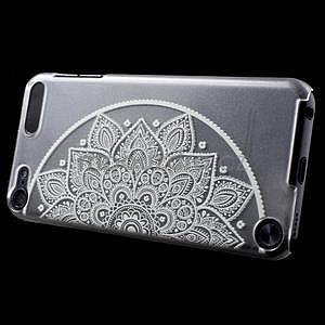 Plastový obal pre iPod Touch 5 - polkruh mandala - 3