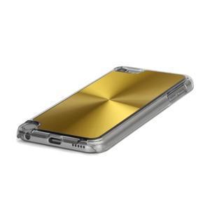 Zen metalický obal na iPod Touch 5 - zlatý - 3