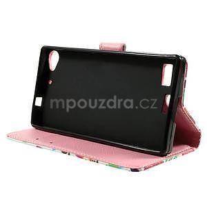 Peňaženkové PU kožené puzdro Lenovo Vibe X2 - Sovičky - 3