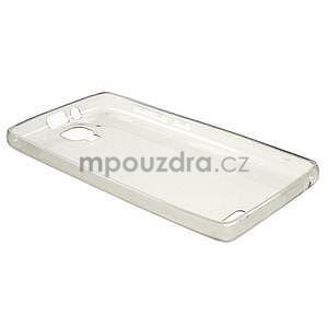 Gélový slim obal pre Lenovo A536 - šedý - 3