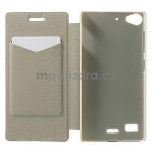 Peňaženkové puzdro Lenovo Vibe X2 - tyrkysové - 3