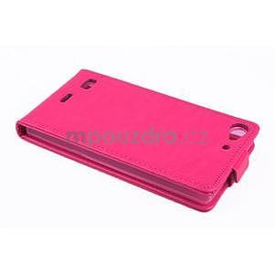 Flipové puzdro pre mobil Lenovo Vibe X2 - rose - 3