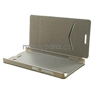 Peňaženkové puzdro Lenovo Vibe X2 - biele - 3