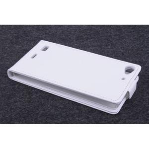 Flipové puzdro na mobil Lenovo Vibe X2 - biele - 3