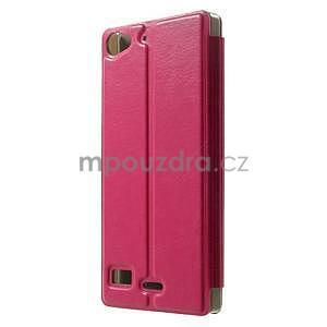 Peňaženkové puzdro Lenovo Vibe X2 - rose - 3
