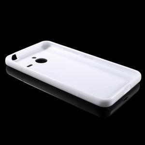 S-line gélový obal na Microsoft Lumia 640 XL - biely - 3