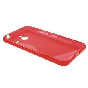 S-line gélový obal na Microsoft Lumia 640 XL - červený - 3
