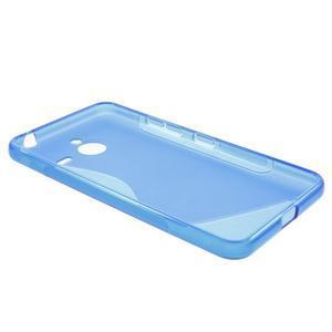 S-line gélový obal na Microsoft Lumia 640 XL - modrý - 3