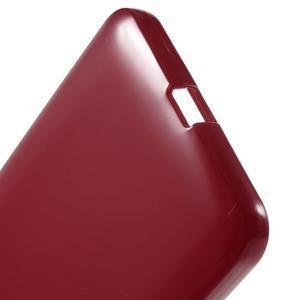 Červený gélový obal pre Microsoft Lumia 640 XL - 3