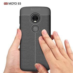 Texture odolný obal na Motorola Moto G6 Play - sivý - 3