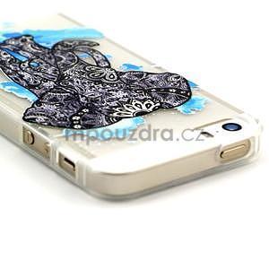 Fun gélový obal na iPhone 5s a iPhone 5 -slon - 3