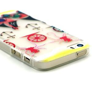 Fun gélový obal na iPhone 5s a iPhone 5 -kotva - 3