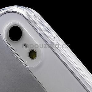 Transparentný gélový obal na iPhone 5 / 5s - 3