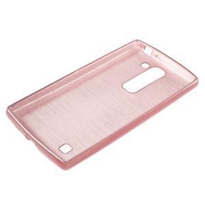 Brush gélový kryt na LG G4c H525N - ružový - 3