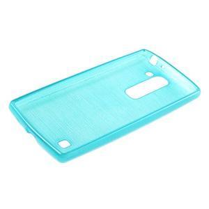Brush gélový kryt pre LG G4c H525N - modrý - 3