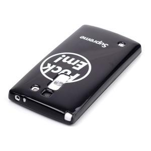 Soft gélové puzdro pre LG G4c - fuck em - 3