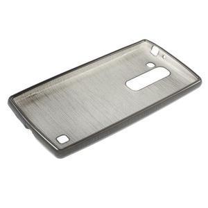 Brush gélový kryt na LG G4c H525N - šedý - 3