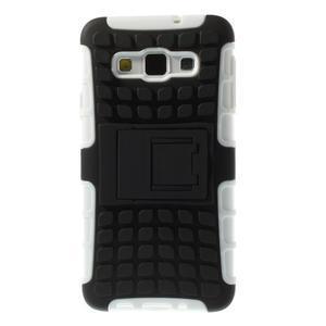 Outdoor odolný kryt na mobil Samsung Galaxy A3 - biely - 3