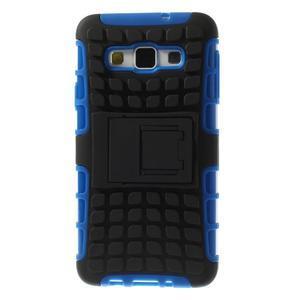 Outdoor odolný kryt pre mobil Samsung Galaxy A3    - modrý - 3