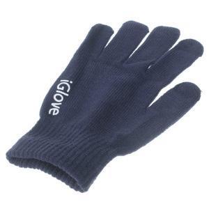 Gloves dotykové rukavice na mobil - tmavomodré - 3