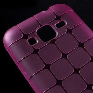 Square matný gélový obal pre Samsung Galaxy Core Prime - rose - 3