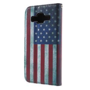 Puzdro na mobil Samsung Galaxy Core Prime - US vlajka - 3