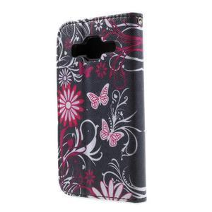 Puzdro na mobil Samsung Galaxy Core Prime - kouzelní motýlci - 3