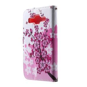 Puzdro na mobil Samsung Galaxy Core Prime - kvetoucí větvička - 3