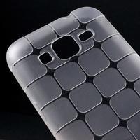 Square matný gélový obal pre Samsung Galaxy Core Prime - transparentný - 3/5