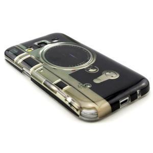 Gélový obal pro Samsung Core Prime - retro foťák - 3