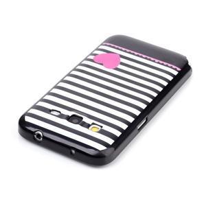 Gelový kryt na mobil Samsung Galaxy Core Prime - srdce - 3