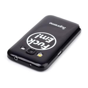 Gélový kryt pre mobil Samsung Galaxy Core Prime - fuck em - 3