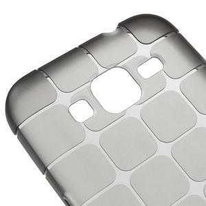 Square matný gélový obal pre Samsung Galaxy Core Prime - šedý - 3