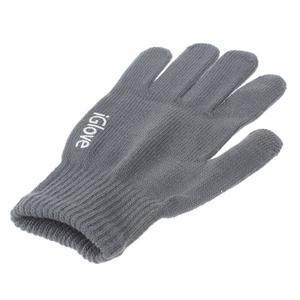 Gloves dotykové rukavice na mobil - tmavošedé - 3