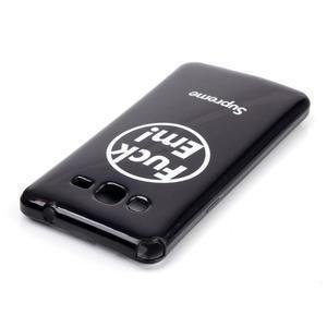 Jelly gélový obal na mobil Samsung Galaxy Grand Prime - fuck em - 3