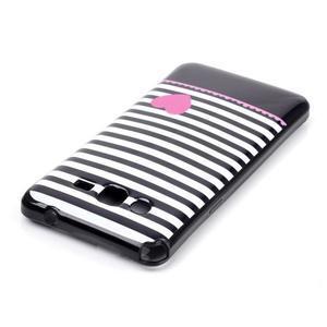 Jelly gélový obal na mobil Samsung Galaxy Grand Prime - srdce - 3