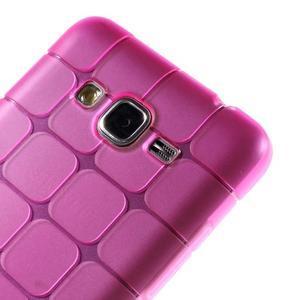 Square gélový obal na Samsung Galaxy Grand Prime - rose - 3