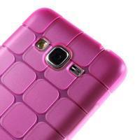 Square gélový obal na Samsung Galaxy Grand Prime - rose - 3/5